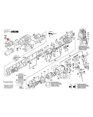 หัวจับดอก SDSplus GBH2-24DFR 1617000327 Bosch