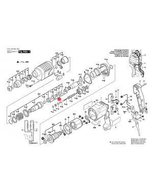 ลูกสูบ GBH2-20SE 1617000338 Bosch