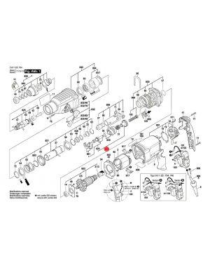ตัวเคลื่อนลูกสูบ GBH2-26DFR/RE 1617000579 Bosch