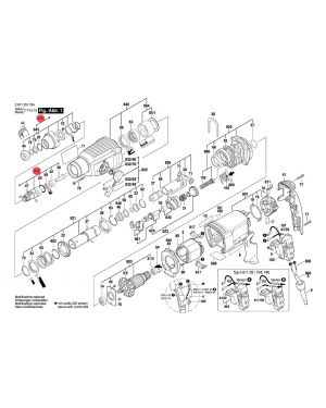 หัวจับ GBH2-26DE 1617000598 Bosch