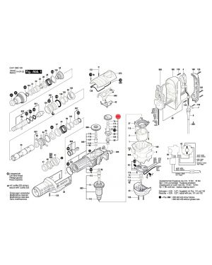 ตัวปรับรอบ GBH8-45D 1617000A35 Bosch