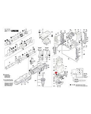 แปรงถ่าน GSH9VC 1617000A50 Bosch