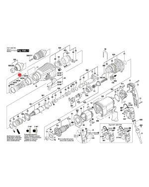 ปลอกโลหะ GBH2-26DFR 1617000V41 Bosch