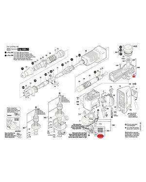 แปรงถ่าน GSH11E 1617014126 Bosch