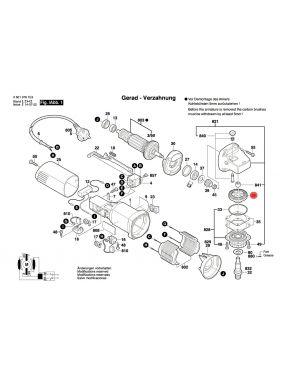 เกียร์ GWS5-100 2609110150 Bosch