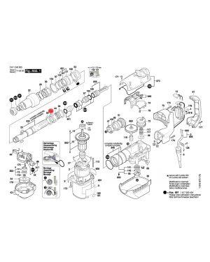 สปริงปลอกรอง GBH5-38D 1610115001 Bosch