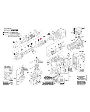แผ่นควบคุม GSH11E 1610190019 Bosch