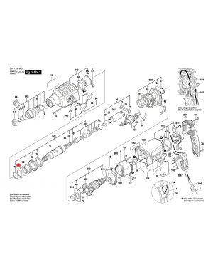 แหวนรอง GBH2-22E 1610190049 Bosch