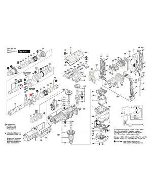บู๊ชล็อค GBH8-45DV 1610190071 Bosch
