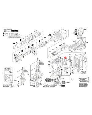 สวิทซ์ปิด-เปิด GSH11E 1617200048 Bosch