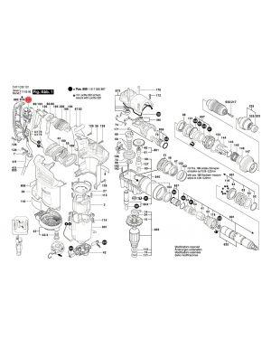 สวิทซ์ปิด-เปิด GBH4-32DFR 1617200127 Bosch