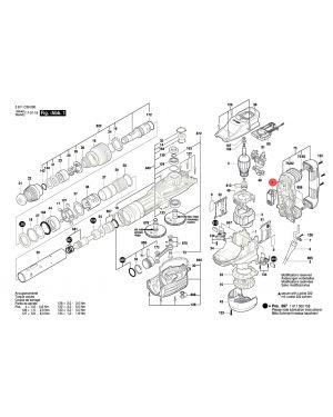 สวิทซ์ GSH11VC 1607200244 Bosch