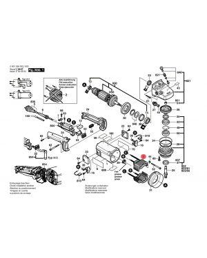 ขั้วไฟ GWS20-180 1604220380 Bosch