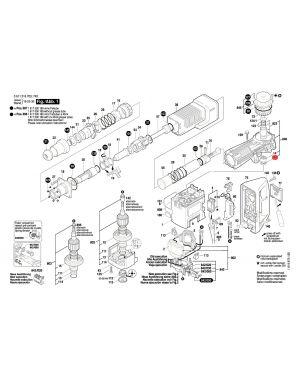 ซีลยาง GSH11E 1610290028 Bosch