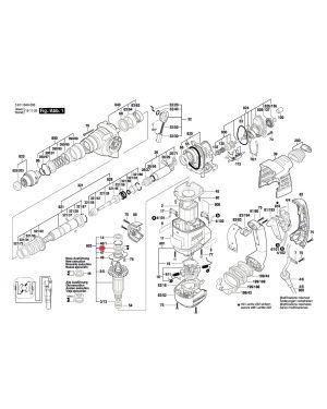 ลูกปืน GBH3-28DFR 1610290102 Bosch
