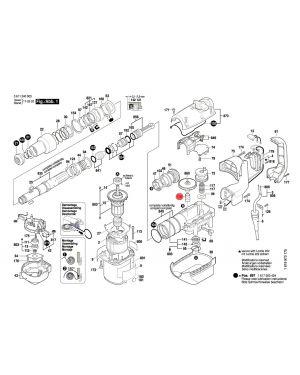บู๊ช GBH5-38D 1610311017 Bosch
