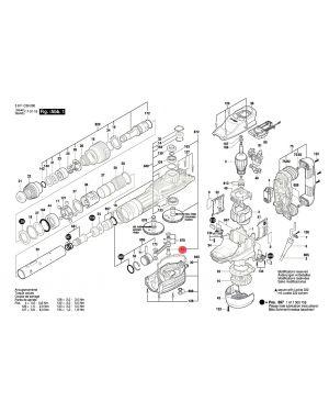 สลักเกลียว GSH11VC 1610320015 Bosch
