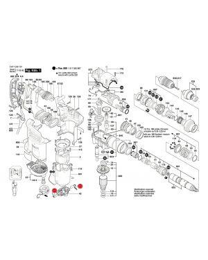 แปรงถ่าน GBH4-32DFR 1614321079 Bosch