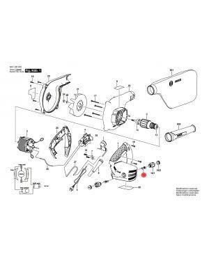 แปรงถ่าน GBL800E 1604321129 Bosch