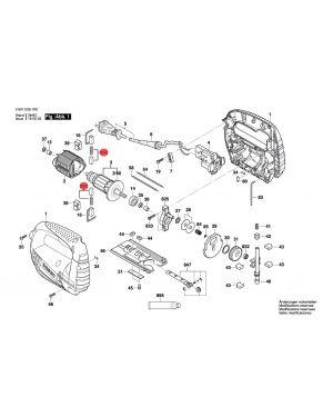แปรงถ่าน GST65 2604321919 Bosch