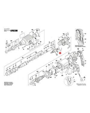 สลักยึด GBH2-22RE 1601329040 Bosch