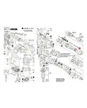 ฝาครอบ GBH4-32 DFR 1610390056 Bosch