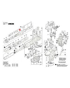 ยางกันฝุ่น GSH11VC 1610499076 Bosch