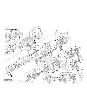 ปากกรองรับแรงกระแทก GBH2-26 DFR 1610590014 Bosch