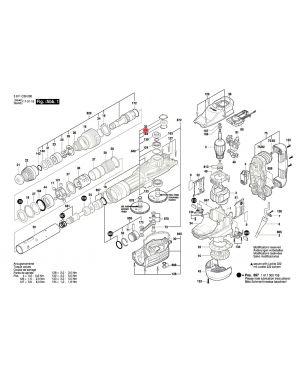 ลูกปืน GSH11VC 1600905028 Bosch