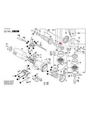ลูกปืน GWS14-125CI 1600905032 Bosch