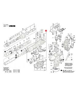 เฟือง GSH11VC 1600A005A4 Bosch