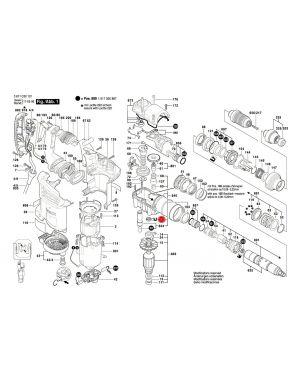 แหวนซีลน้ำมัน GBH4-32DFR 1600A0089A Bosch