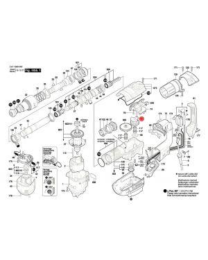 เฟือง GBH5-40D 1600A00ZZ3 Bosch