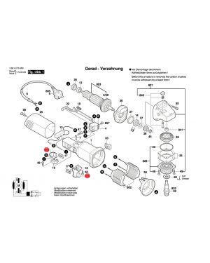 แปรงถ่าน GWS-060 1619P07571 Bosch