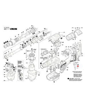 ปลอกสายไฟ GBH5-40D 1619P07722 Bosch
