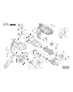 สวิทซ์ GSB1300 1619PA0679 Bosch