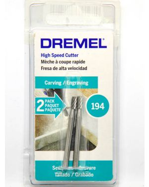 ดอกแกะสลักความเร็วสูง 3.2mm 194 Dremel