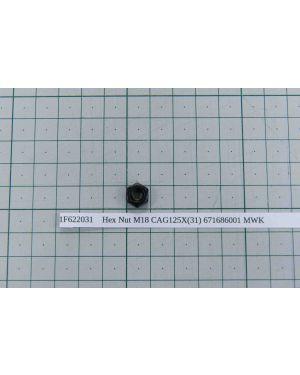 Hex Nut M18 CAG125X(31) 671686001 MWK
