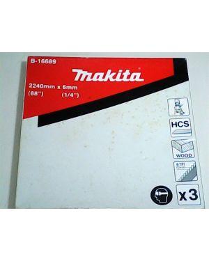 ใบเลื่อยสายพาน 6mm 6T 3Pcs LB1200 B-16689 Makita