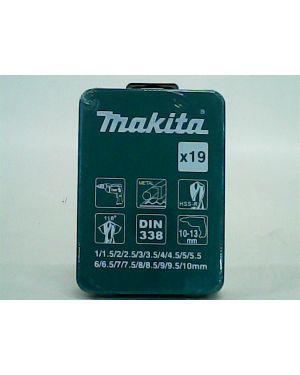 ชุดดอกสว่าน ดำ 19Pcs D-54112 Makita
