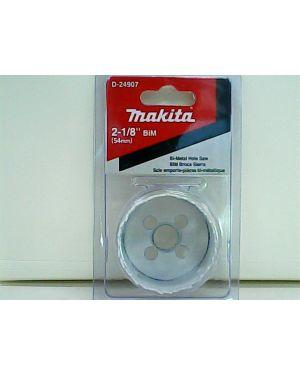 """โฮลซอว์ เจาะไม้/เหล็ก/พลาสติก 2-1/8"""" D-24907 Makita"""