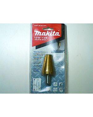 """Step Drill ร่องตรง TiN 13/16""""-1 3/8"""" B-31077 Makita"""