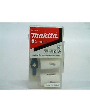 ชุดดอกโฮลซอว์เจาะเหล็ก Kit-1 4Pcs D-33641 Makita