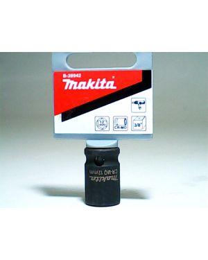 """ลูกบล็อกลม แกน 3/8"""" 12x28mm TW100D B-39942 Makita"""