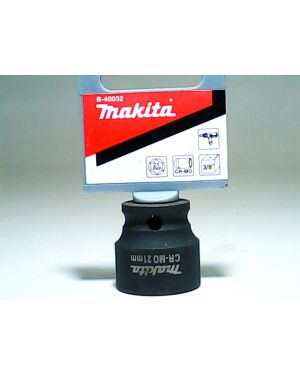"""ลูกบล็อกลม แกน 3/8"""" 21x28mm B-40032 Makita"""