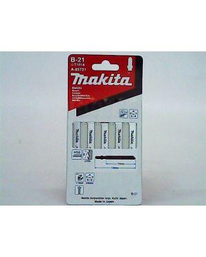 ใบจิ๊กซอว์ตัดพลาสติก ดาบ B-21 5Pcs A-85721 Makita