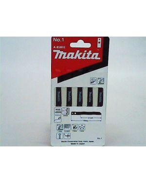 ใบจิ๊กซอว์ตัดเหล็ก #1 5Pcs A-85802 Makita