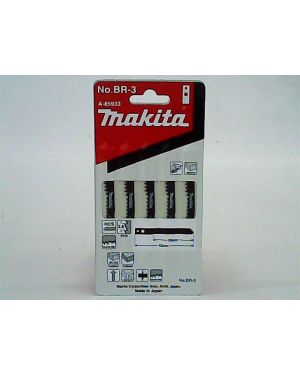 ใบจิ๊กซอว์รูตัดไม้ BR-3 5Pcs A-85933 Makita