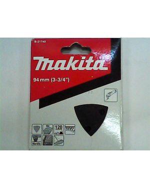 กระดาษทรายขัดหิน #120 10Pcs B-21749 Makita