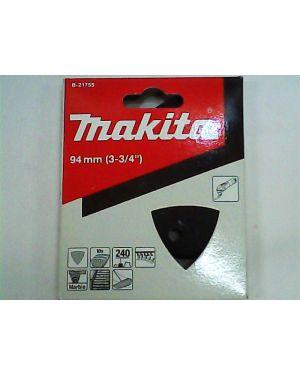 กระดาษทรายขัดหิน #240 10Pcs B-21755 Makita